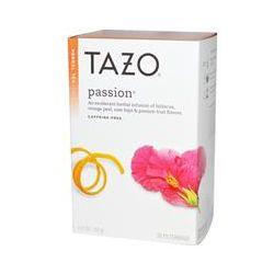 Tazo Teas, Passion, Herbal Tea, Caffeine-Free, 20 Filterbags, 1.8 oz (52 g)