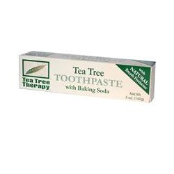 Tea Tree Therapy, Tea Tree Toothpaste, with Baking Soda, 5 oz (142 g)