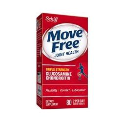 Schiff, Move Free, Joint Health, 80 Coated Tablets