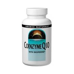Source Naturals, Coenzyme Q10, with Bioperine, 100 mg, 60 Softgels