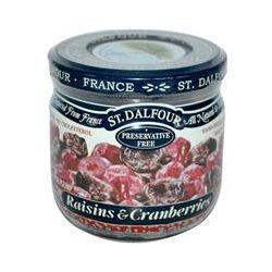 St. Dalfour, Raisins & Cranberries, 7 oz (200 g)