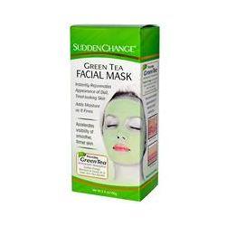 Sudden Change, Green Tea Facial Mask, 3.4 oz (100 g)