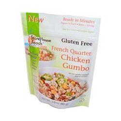 Storehouse Foods, French Quarter Chicken Gumbo, Gluten Free, 3.0 oz (85 g)
