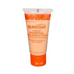 Suncoat, Liquid Mineral Foundation, Transparent, Fragrance-Free, 1 fl oz (30 ml)