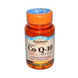 Rexall Sundown Naturals, Q-Sorb, Co Q-10, 200 mg, 40 Softgels