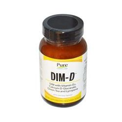 Pure Essence, Dim-D, 30 Veggie Caps