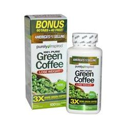 Purely Inspired, Green Coffee, 800 mg, 100 Tablets