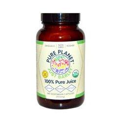 Pure Planet, Organic, Just Barley, 333 mg, 180 Veggie Caps