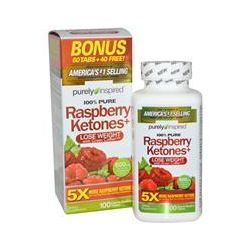 Purely Inspired, Raspberry Ketones+, 600 mg, 100 Tablets