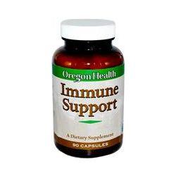 Oregon Health, Immune Support, 90 Capsules