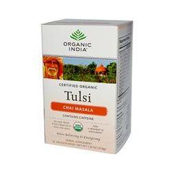 Organic India, Tulsi Tea, Chai Masala, 18 Infusion Bags, 1.33 oz (37.8 g)