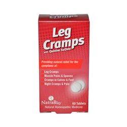 NatraBio, Leg Cramps, with Quinine Sulfate, 60 Tablets