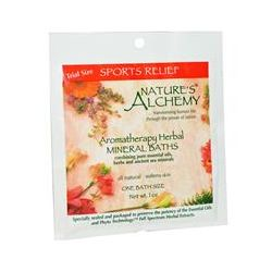 Nature's Alchemy, Aromatherapy Herbal Mineral Baths, Sport Relief, Trial Size, 1 oz