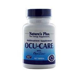 Nature's Plus, Ocu-Care with OptiZinc, 60 Tablets