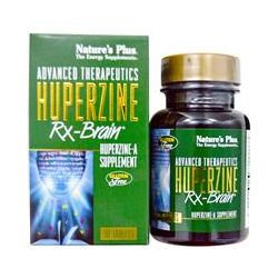 Nature's Plus, Advanced Therapeutics, Huperzine Rx-Brain, 30 Tablets