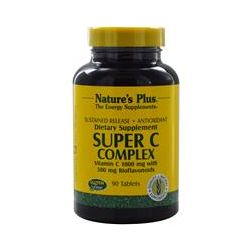 Nature's Plus, Super C Complex, Sustained Release, 90 Tablets