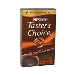 Nescafé, Taster's Choice, Instant Coffee, French Roast, 6 Packets, 0.07 oz (2 g) Each