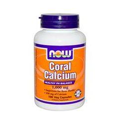 Now Foods, Coral Calcium, 1000 mg, 100 Veggie Caps