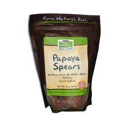 Now Foods, Papaya Spears, 12 oz (340 g)