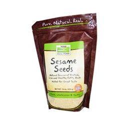 Now Foods, Real Food, Sesame Seeds, 16 oz (454 g)