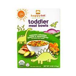 Nurture Inc. (Happy Baby), Happytot, Toddler Meal Bowls, Organic Chicken Quinoa & Vegetables, 6 oz (170 g)