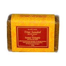 Maroma, Bath Soap, True Sandal, 100 g