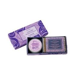 Maroma, Solid Perfume and Soap Set, Lavender, 2 Pieces