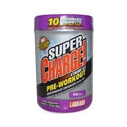 Labrada Nutrition, Super Charge! Xtreme 4.0, Grape Flavor, 1.76 lbs (800 g)