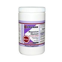 Kirkman Labs, Magnesium Glycinate Bio-Max Series, 250 Capsules