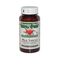 Kroeger Herb Co, Complete Concentrates, Milk Thistle, 90 Veggie Caps