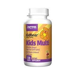 Jarrow Formulas, KidBear, Kids Multi, Multi-Vitamin & Mineral, Children's Chewable, Cherry Flavor, 120 Tablets