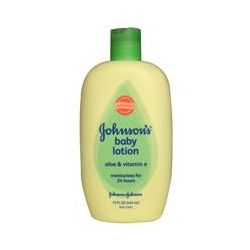 Johnson & Johnson, Baby Lotion, Aloe & Vitamin E, 15 fl oz (443 ml)