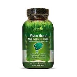 Irwin Naturals, Vision Sharp, Multi-Nutrient Eye Health, 42 Liquid Soft-Gels