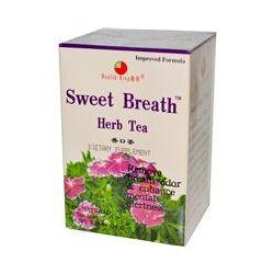 Health King, Sweet Breath Herb Tea, 20 Tea Bags, 1.20 oz (34 g)