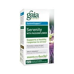 Gaia Herbs, Serenity with Passionflower, 60 Veggie Liquid Phyto-Caps