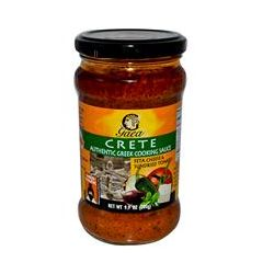 Gaea, Crete, Greek Cooking Sauce, Feta Cheese & Sundried Tomato, 9.9 oz (280 g)