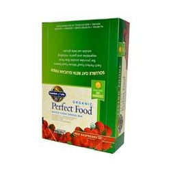 Garden of Life, Organic, Perfect Food, Whole Food Greens Bar, Red Raspberry, 12 Bars, 2.25 oz (64 g) Each