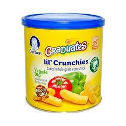 Gerber, Graduates, Lil' Crunchies, Veggie Dip, Crawler, 1.48 oz (42 g)