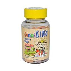 Gummi King, Calcium Plus Vitamin D for Kids, 60 Gummies