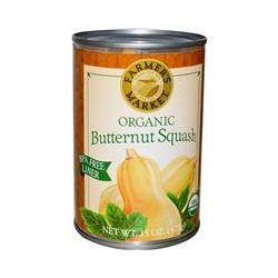 Farmer's Market Foods, Organic Butternut Squash, 15 oz (425 g)