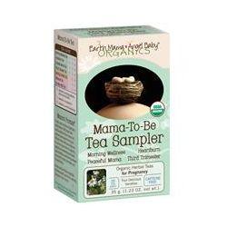 Earth Mama Angel Baby, Organics, Mama-To-Be Tea Sampler, Caffeine Free, 16 Tea Bags, 1.23 oz (35 g)