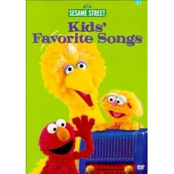 Sesame Street: Kids' Favorite Songs (DVD 1999)