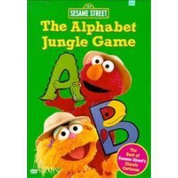Sesame Street: The Alphabet Jungle Game (DVD 1998)