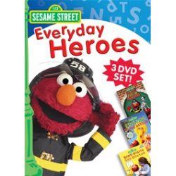 Sesame Street: Everyday Heroes 3 Pack (DVD)