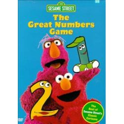 Sesame Street: The Great Numbers Game (DVD 1998)
