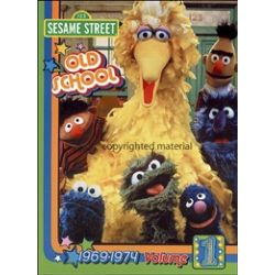 Sesame Street: Old School Volume 1 - 1969 - 1974 (DVD 1969)