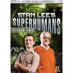 Stan Lee's Superhumans: Season 2 (DVD)