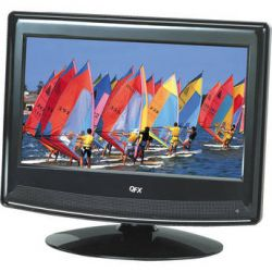 "QFX 13.3"" LCD TV with ATSC/NTSC TV Tuner (Black) TVLED1311"