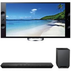 "Sony Sony XBR-65X900A 65"" TV with HTST7 Sound Bar Kit B&H"