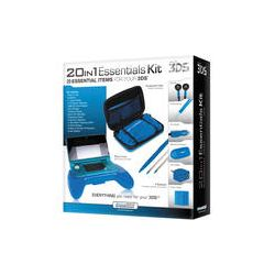 dreamGEAR 20-in-1 Essentials Kit for Nintendo 3DS DG3DS-4204 B&H